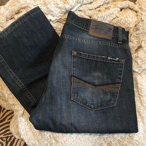 Men's Seven7 Straight Leg Jeans